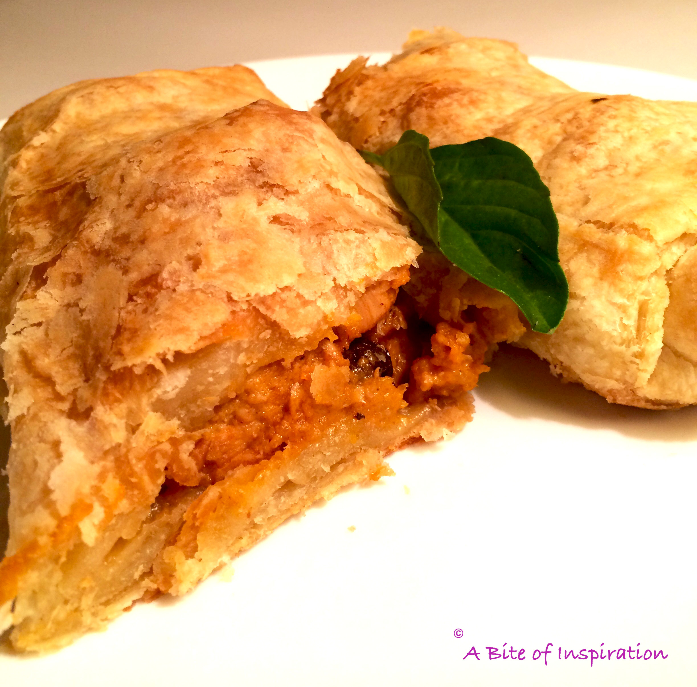 Thai Chicken Curry Strudel