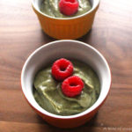 Vegan Black Sesame Avocado Mousse
