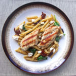 Mediterranean Grilled Chicken Pasta