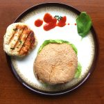 Thai-Style Chicken Burgers with Sriracha Sesame Mayo