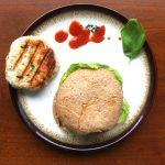 Thai-Style Chicken Burgers with Sriracha Sesame Mayo